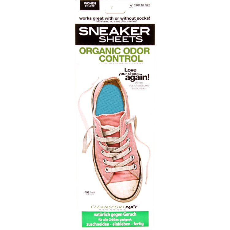 Sneaker Sheets Women's Odour Control Insoles - Light Blue UK 4-7