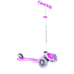 Globber Primo Plus Complete Scooter - Deep Pink