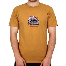 Huf Game Over T Shirt - Honey Mustard