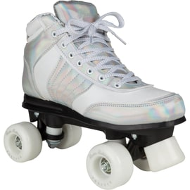 Rookie Forever Disco Quad Roller Skates - Silver