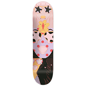 Girl Starstruck Skateboard Deck - Carroll 8.125