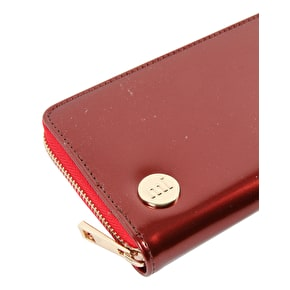 Mi-Pac Patent Zip Purse - Red