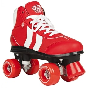 Rookie Quad Roller Skates - Retro V2 Red/White