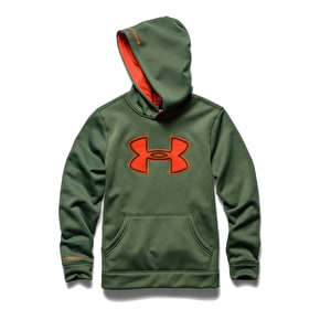 Under Armour Youth Storm Big Logo Hoodie - Khaki