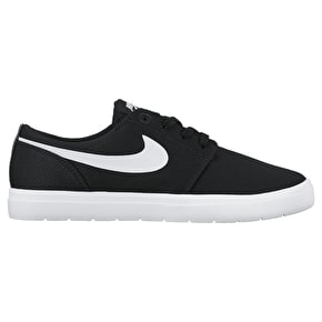 Nike SB Portmore II Ultralight Skate Shoes - Black/White