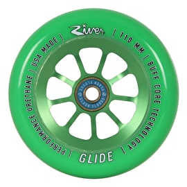River Glides Pro Scooter Wheel 110mm - Emerald