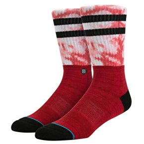 Stance Raster Socks - Red