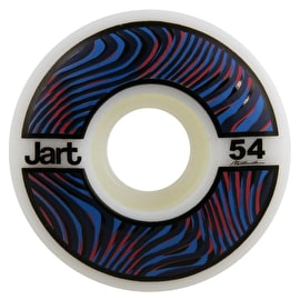 Jart Psycho 102a Skateboard Wheels - Blue 54mm