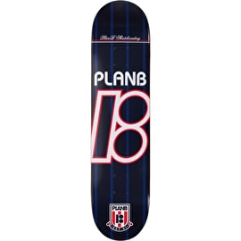 Plan B Team United Blue Skateboard Deck - 7.75