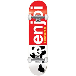 Enjoi Half And Half Youth Complete Skateboard - Red 7