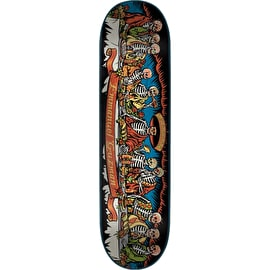 Santa Cruz Guzman Dining With The Dead Skateboard Deck - Multi 8.2