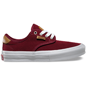 Vans Chima Ferguson Pro Kids Skate Shoes - Port/White