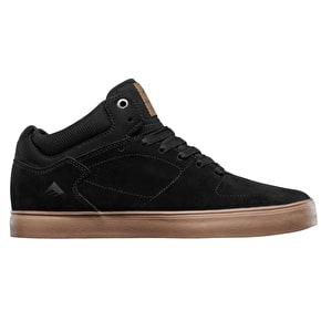Emerica The HSU G6 Skate Shoes - Black/Gum