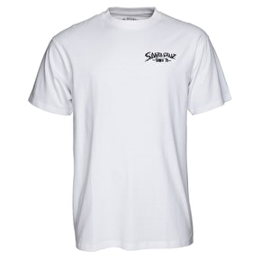 Santa Cruz Pave The World T-Shirt - White