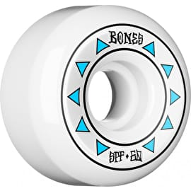 Bones SPF P5 Arrows 84b Skateboard Wheels - White (Pack of 4)