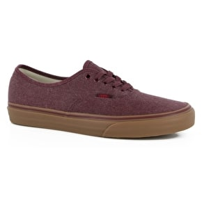 Vans Authentic Shoes - Washed Canvas Port Royale/Gum