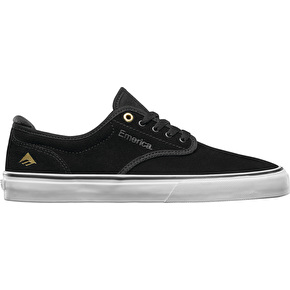 Emerica Wino G6 Skate Shoes - Black/White