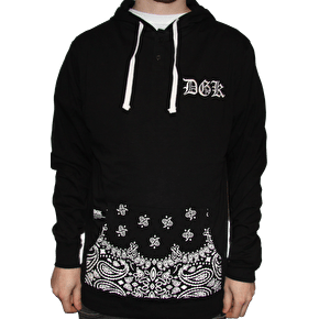 DGK OG Hooded Jersey - Black
