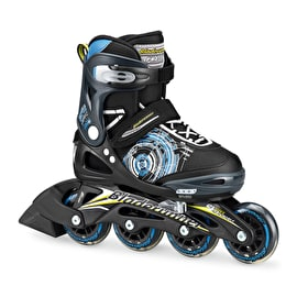 Bladerunner 2017 Phaser Kids Roller Blades - Black/Light Blue