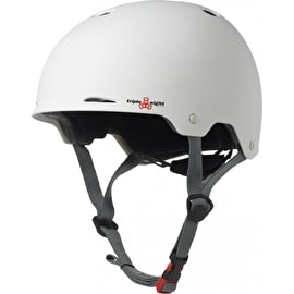 Triple 8 Gotham Helmet - White Rubber