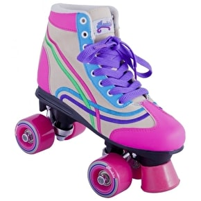 Rookie Bella Roller Skates - Natural/Pink/Purple UK Size 3 (B-Stock)