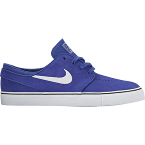 Nike SB Zoom Stefan Janoski Skate Shoes - Deep Night/White