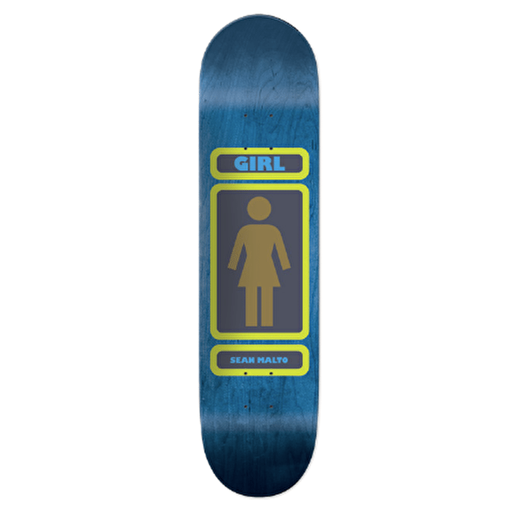 Girl 93 Til Skateboard Deck - Malto 8""