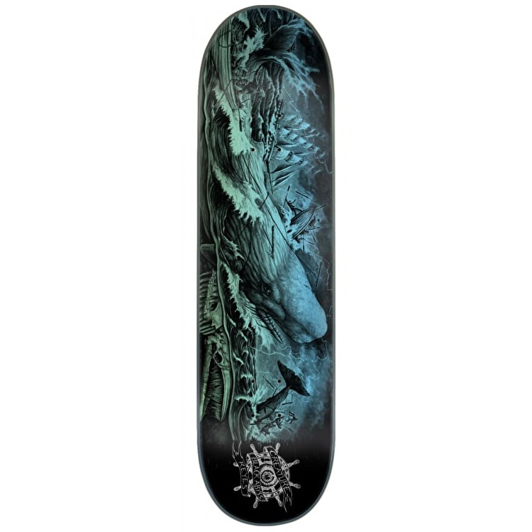 Creature Pro Black Abyss Skateboard Deck - Reyes 8.25""