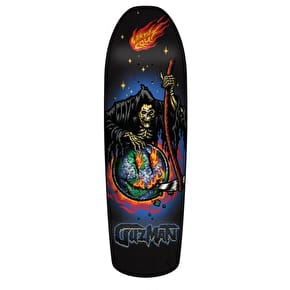 Santa Cruz Guzman Smile Preissue Shaped Pro Skateboard Deck - Multi 9.16
