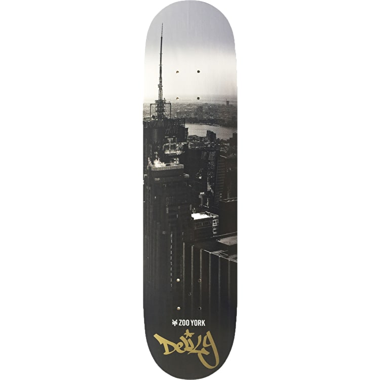 Zoo York Pano Pro Skateboard Deck - Ron Deily 8.5""