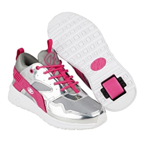 Heelys Force - Silver/Grey/Pink