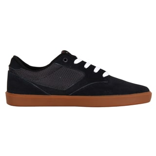 DVS Pressure SC+ Skate Shoes - Navy Suede
