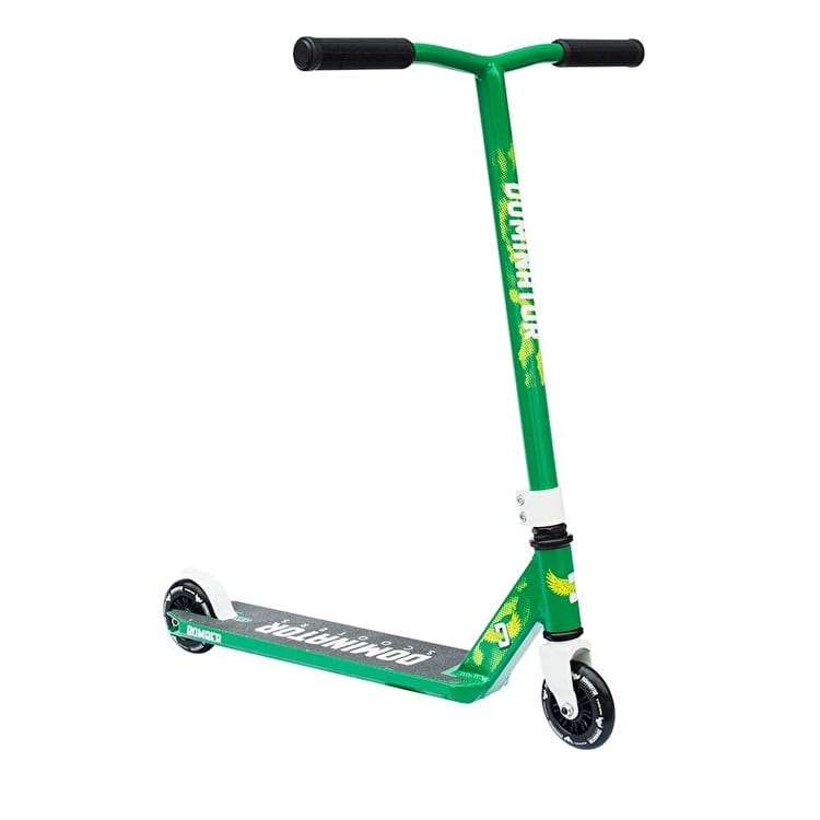 Dominator 2017 Bomber Complete Scooter - Green/White