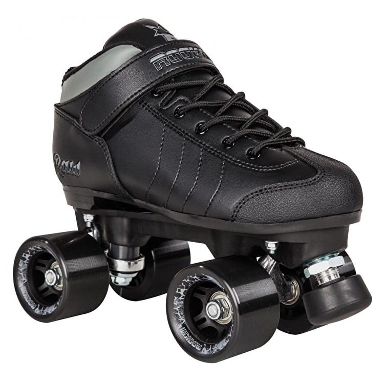 Rookie Raw Roller Derby Quad Roller Skates - Black
