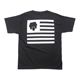 SkateHut StateHut Kids T shirt - Black/White