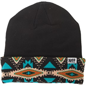 Neff Tribal Shores Beanie - Black
