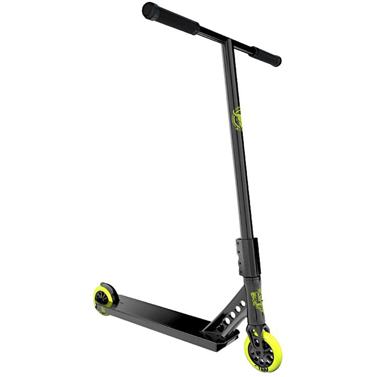 Lucky EVO Pro Complete Scooter - Black Highlighter