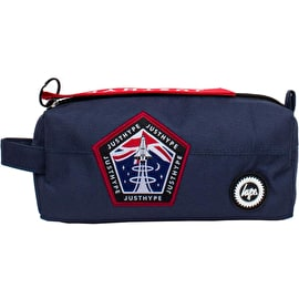 Hype Space Patch Pencil Case - Navy