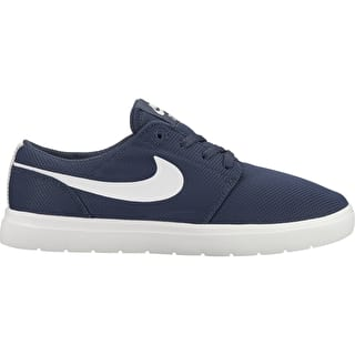 Nike SB Portmore II Ultralight Kids Skate Shoes - Thunder Blue/Summit White