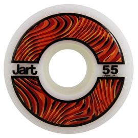 Jart Psycho 102a Skateboard Wheels - Orange 55mm