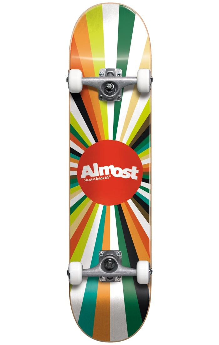 Image of Almost Complete Skateboard - Colour Wheel Multi 7.875""