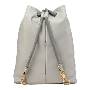 Mi-Pac Tumbled Drawstring Swing Bag - Light Grey
