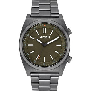 Nixon Brigade Watch - All Gunmetal/Slate/Orange