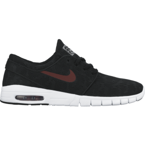 Nike SB Stefan Janoski Max Shoes - Black/Team Red