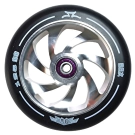 AO Spiral 125mm Scooter Wheel - Silver