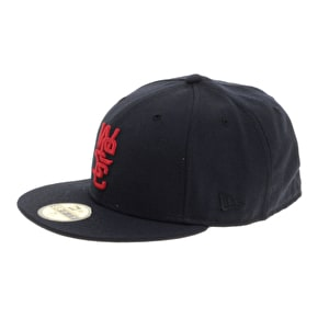 WeSC 59FIFTY Overlay Cap - Medium Blue