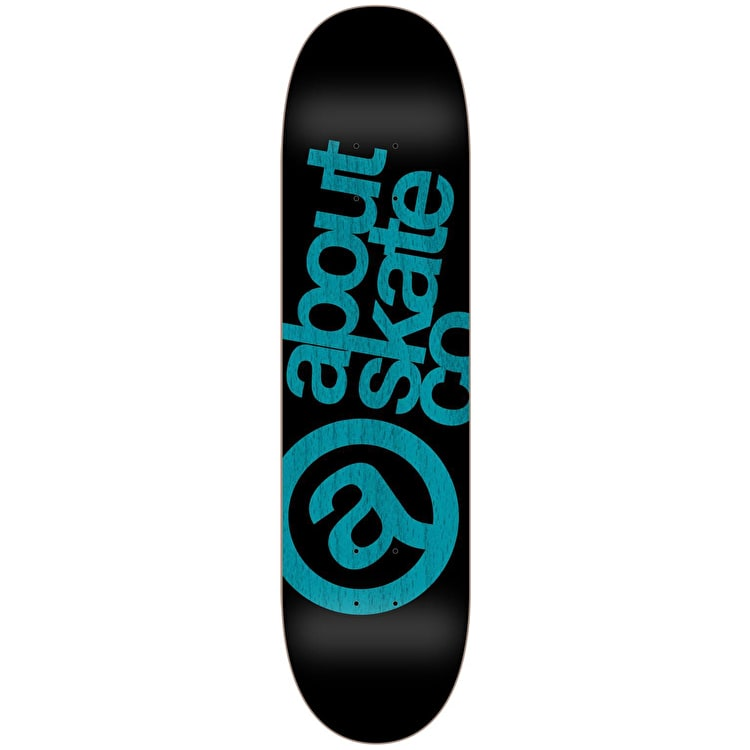 About Monochrom Series 3co Skateboard Deck - Aqua 8.125""