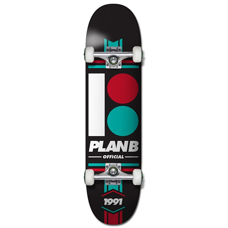 Plan B Team Official Complete Skateboard - 8""