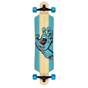 Santa Cruz Drop Thru Longboard - Stained Hand 41