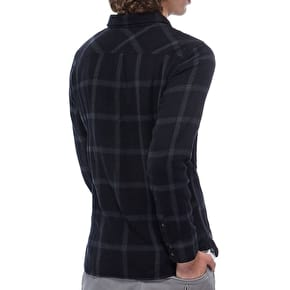 Vans Wayland Flannel Shirt - Black/Gravel